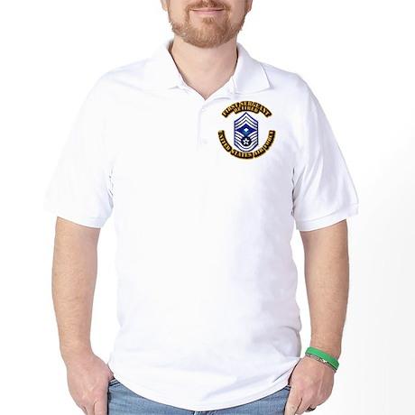 USAF - 1stSgt (E9) - Retired Golf Shirt