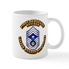 USAF - 1stSgt (E9) - Retired Small Mug