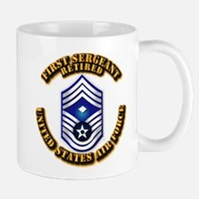 USAF - 1stSgt (E9) - Retired Mug