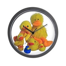 Bunch of Ducks Wall Clock