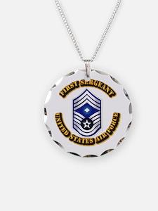USAF - 1stSgt (E9) Necklace