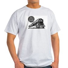 The Blue Comet Ash Grey T-Shirt