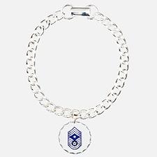 USAF - 1stSgt (E9) - No Text Charm Bracelet, One C