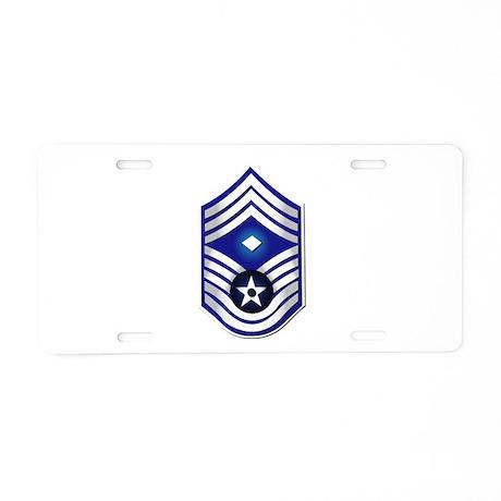 USAF - 1stSgt (E9) - No Text Aluminum License Plat