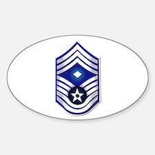 USAF - 1stSgt (E9) - No Text Decal