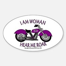 I AM WOMAN HEAR ME ROAR Decal