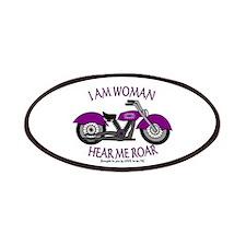 I AM WOMAN HEAR ME ROAR Patches