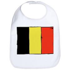 Belgium Flag Bib
