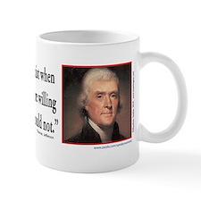 Thomas Jefferson on Democracy Mug