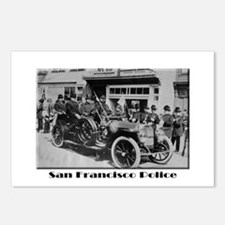 Old San Francisco PD Postcards (Package of 8)