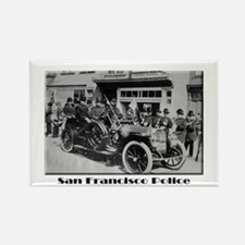 Old San Francisco PD Rectangle Magnet