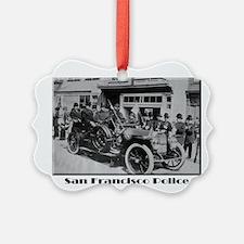 Old San Francisco PD Ornament