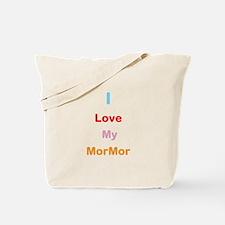 I Love My MorMor Tote Bag