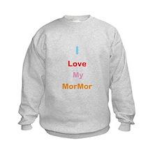 I Love My MorMor Sweatshirt