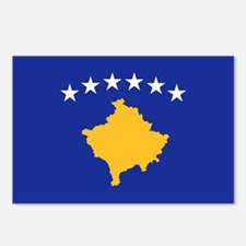 Kosovo flag Postcards (Package of 8)