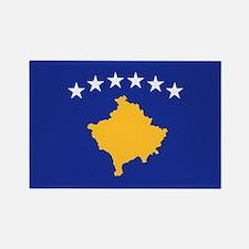 Kosovo flag Rectangle Magnet