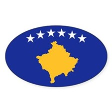 Kosovo flag Decal