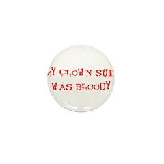 Bloody Clown Mini Button (100 pack)