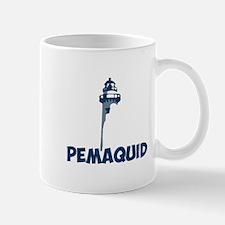 Pemaquid Beach - Lighthouse Design. Mug