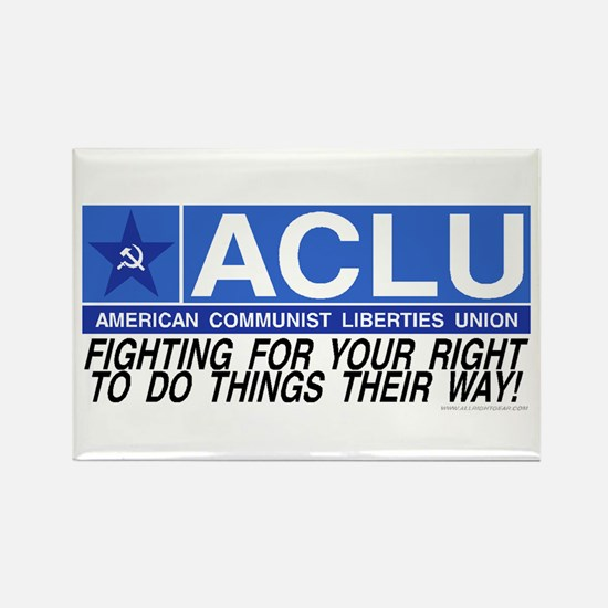 ACLU Rectangle Magnet