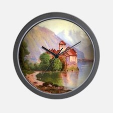 Chateau Chillon Wall Clock