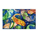 Art fish 3x5 Rugs
