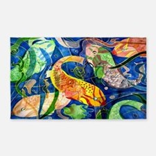 Tropical Fish 3'x5' Area Rug