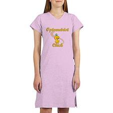 Optometrist Chick #2 Women's Nightshirt