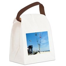 Sky Ride Canvas Lunch Bag