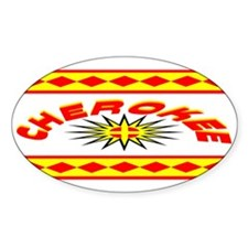 CHEROKEE INDIAN Decal