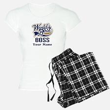 Personalized Boss Pajamas