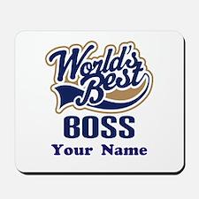 Personalized Boss Mousepad