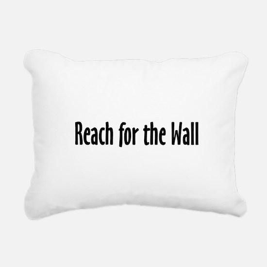 Swim Slogan Rectangular Canvas Pillow