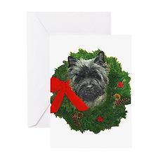 Cairn at Christmas Greeting Card