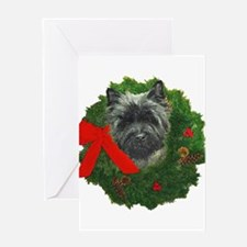 Cairn at Christmas Greeting Card