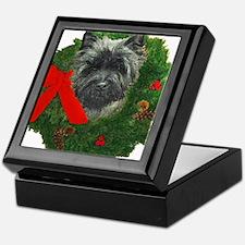 Cairn at Christmas Keepsake Box
