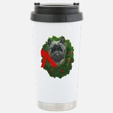 Cairn at Christmas Travel Mug