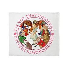 I'm Not That Innocent Throw Blanket