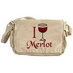 Merlot Drinker Messenger Bag