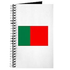 Portugal flag Journal