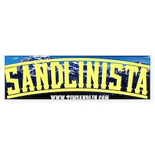 Sandlinista Bumper Bumper Bumper Sticker