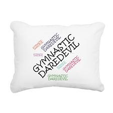 TOP Gymnastics Daredevil Rectangular Canvas Pillow