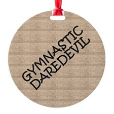 Gymnastics Daredevil Ornament