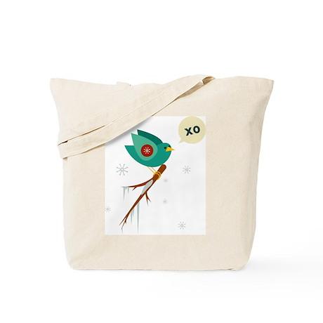 Xo Bird Love Tote Bag (winter)