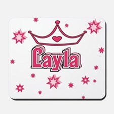 Layla Princess Crown w/Stars Mousepad
