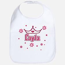 Layla Princess Crown w/Stars Bib