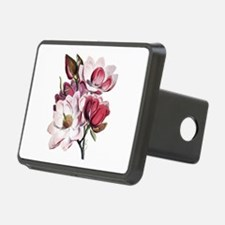 Pink Magnolia Flowers Hitch Cover