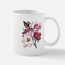 Pink Magnolia Flowers Mug
