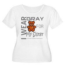 Juvenile Diabetes Awareness for Sister T-Shirt