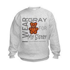 Juvenile Diabetes Awareness for Sister Sweatshirt